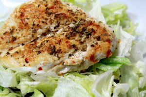 Easy Chicken Breast Recipe for Salad