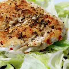 Easy Chicken Breast Recipe for Salad