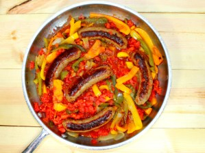 Easy Italian Sausage, Peppers, and Onions