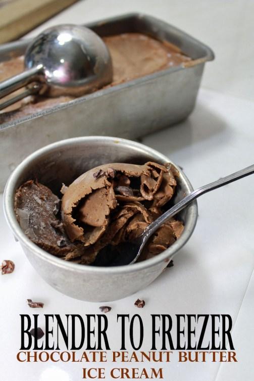 blender to freezer ice cream