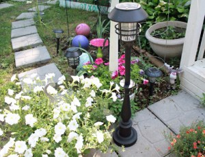 How to Make Your Own Garden Light Post Easy Upcycle