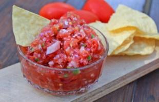 Chunky Garden Salsa Recipe