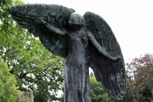 The Black Angel of Death Iowa City