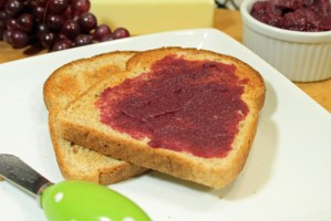 2 Ingredient Concord Grape Jelly Recipe