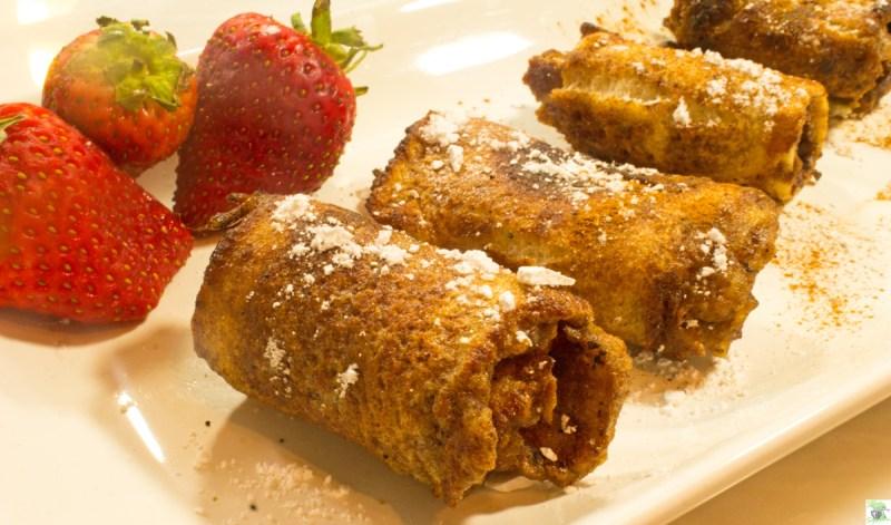 Cinnamon French Toast Roll Ups