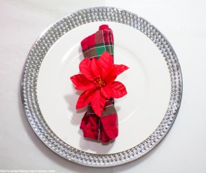DIY Poinsettia Napkin Rings