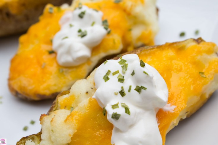 Twice Baked Potatoes Air Fryer Recipe Thirtysomethingsupermom