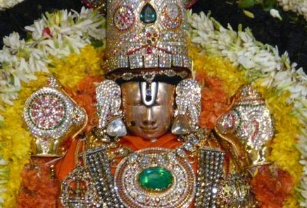 Picture A - Tirumala Utsavar Sri Malayappa Swami