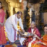 DGP of AP Offered Prayers to Lord at Tirumala