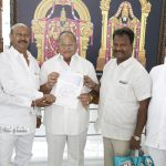 Rs 1.20 Crore Donation to TTD Trust