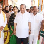 GOVERNOR OF AP & TS VISITS MODEL SRIVARI TEMPLE AT VIJAYAWADA