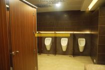 Toilets getting ready