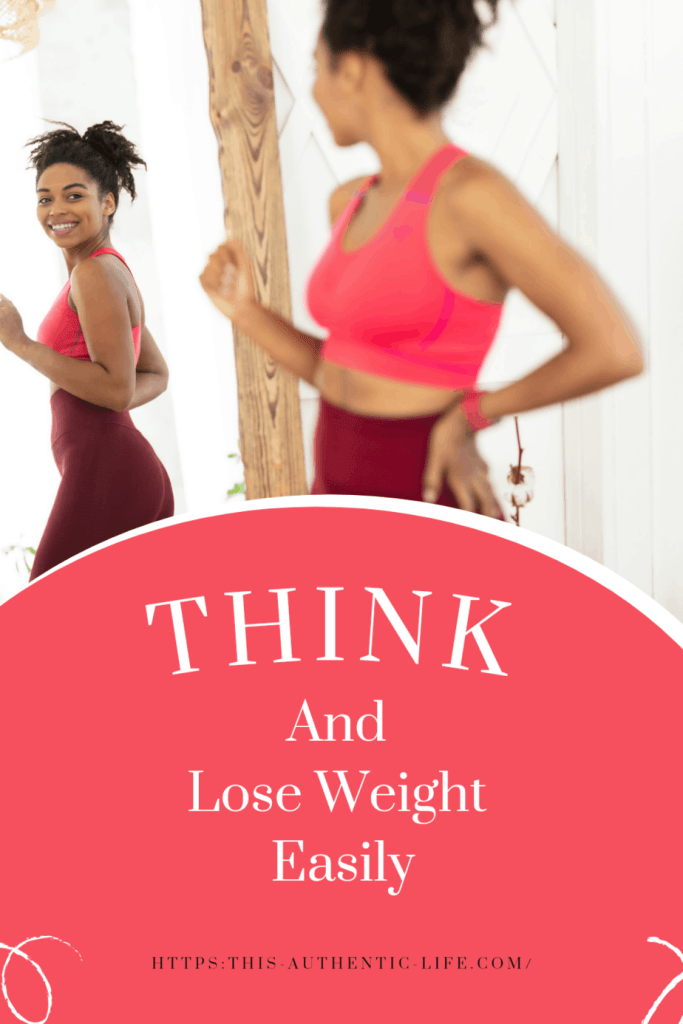 Think and lose weight easily