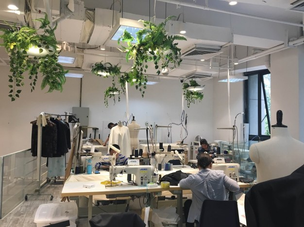 BIFT Park designer studio (BIFT Park is a incubator for global young designers)