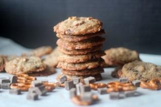 Choco Chunk Toffee/ Pretzel Cookies