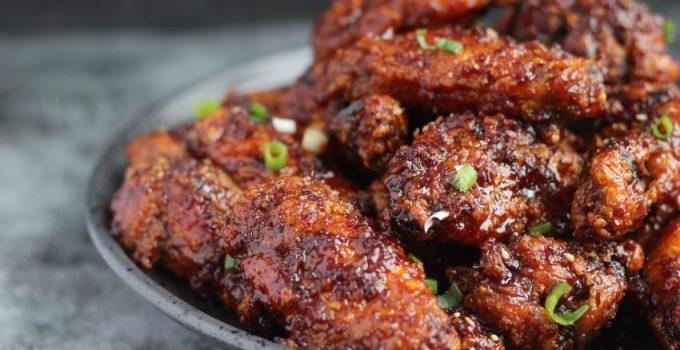 how to make Air Fryer Crispy Korean Gochugaru Chicken Wings Whole30/Paleo/glutenfree