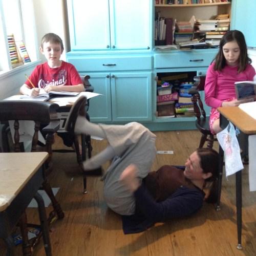 homeschool tantrum