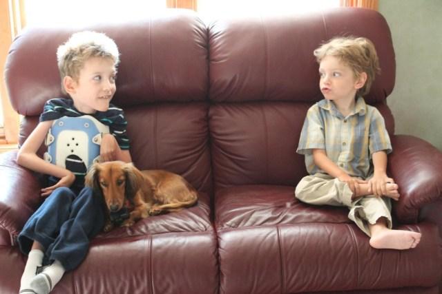 Fulton, Rusty and Teddy