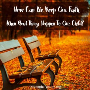 Keeping Faith button