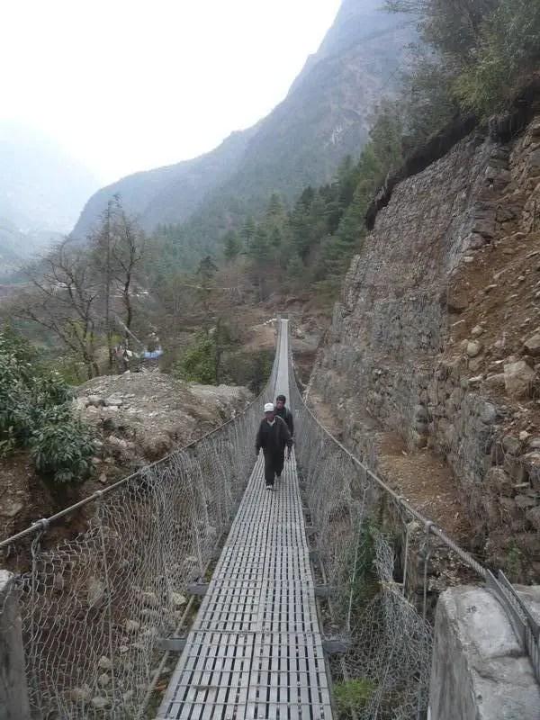Himilayas suspension bridge