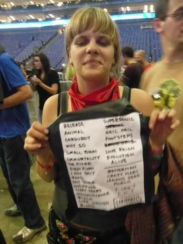 Pearl Jam O2 Arena