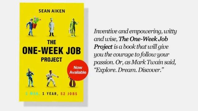 One Week Job book