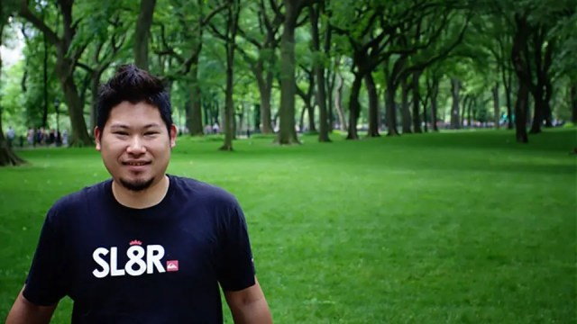 Jason in Central Park