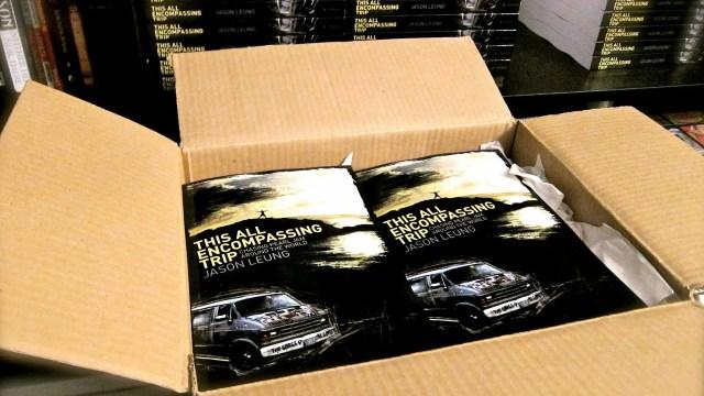 This All Encompassing Trip book shipment