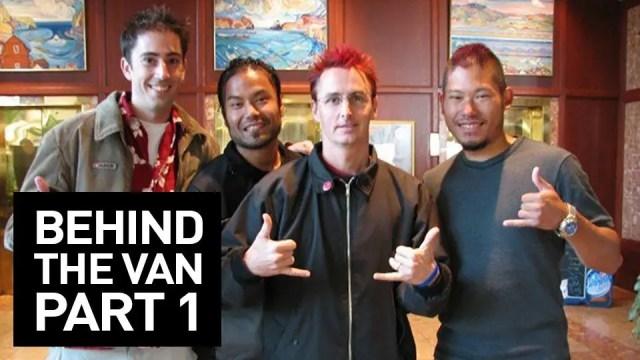 Behind the Van mockumentary on the Pearl Jam Touring Van