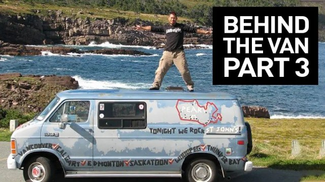Behind the Van mockumentary on the Pearl Jam Touring Van