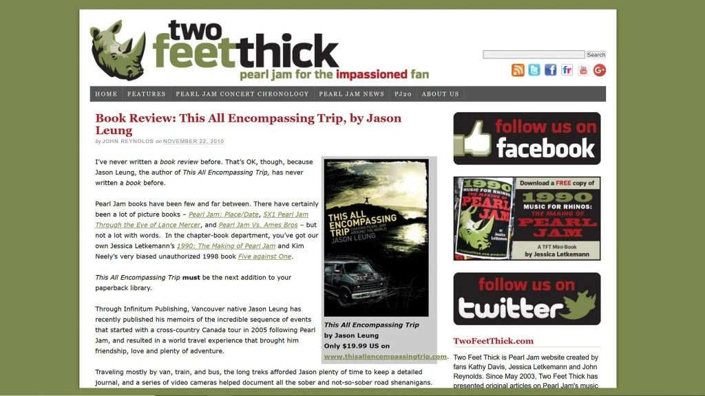 This All Encompassing Trip TwoFeetThick book review