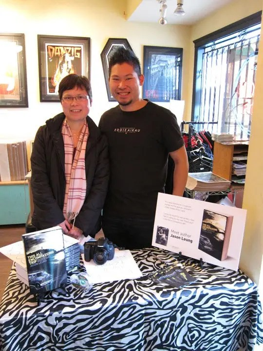 Vancouver Book Signing at Neptoon Records