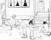 from The Great Snowball Escapade by JD Holiday http://www.amazon.com/Great-Snowball-Escapade-JD-Holiday-ebook/dp/B003ODIV4C