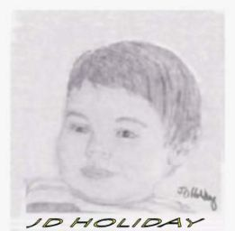 sketch of LUKE by JD Holiday