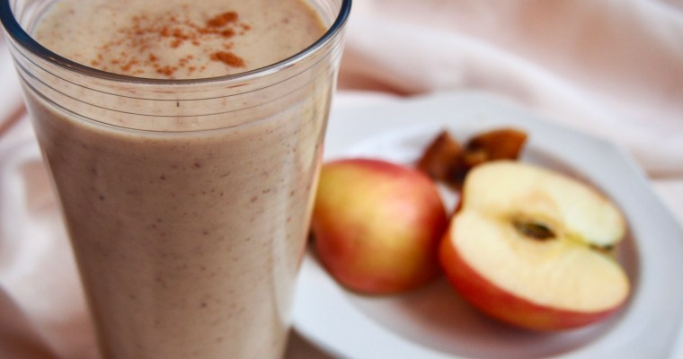 Gut-Friendly Warm Apple Pie Smoothie