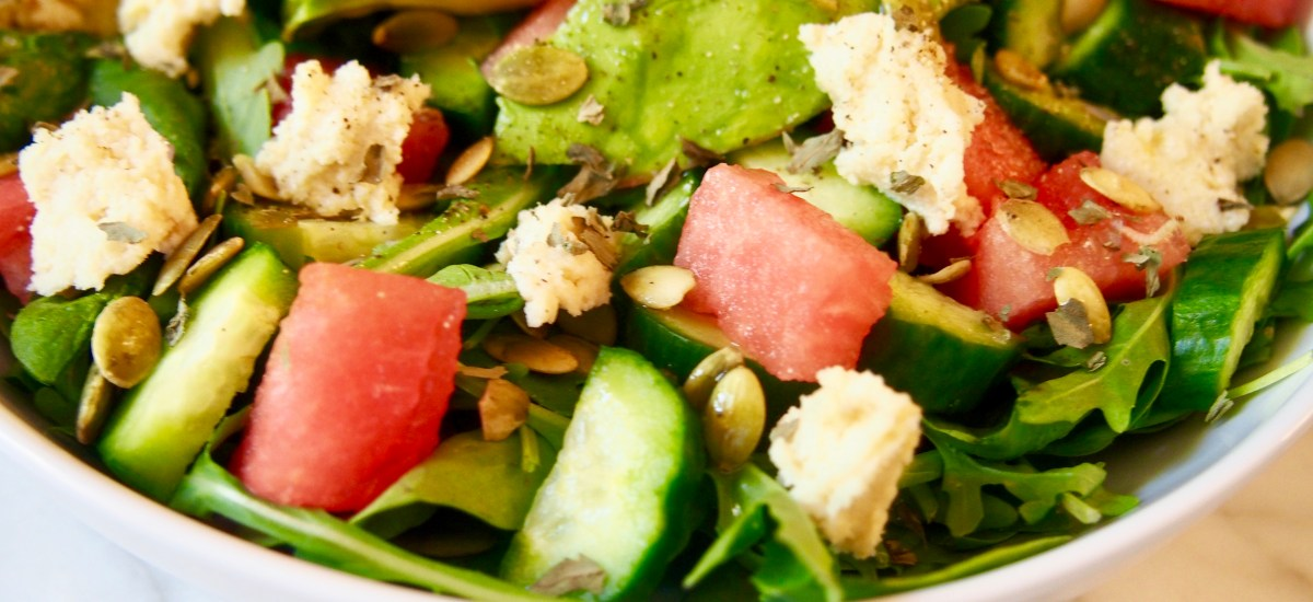 Why You Should Eat More Watermelon + Vegan Watermelon Feta Salad Recipe