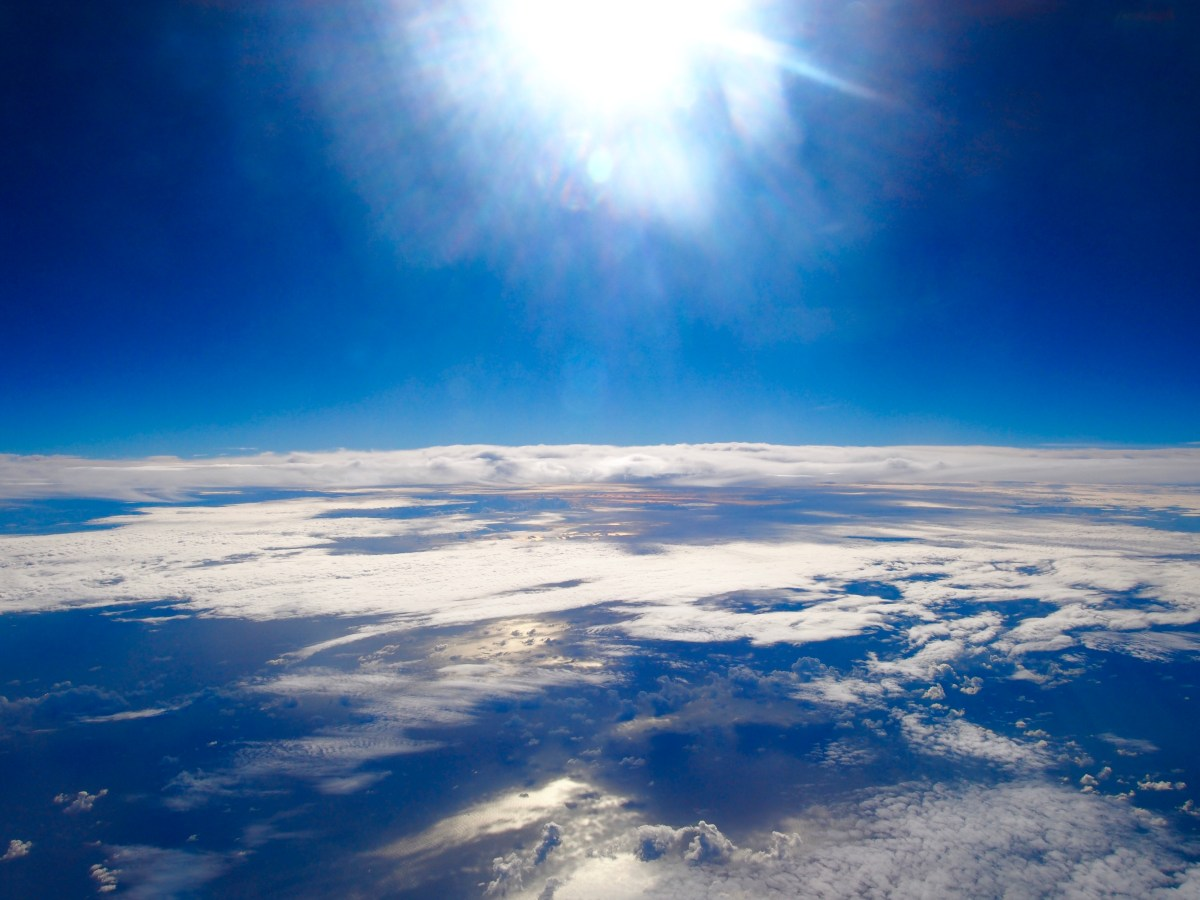 airplane photo earth