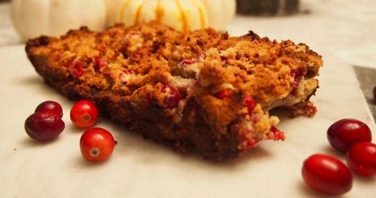 Cranberry Bread: Paleo Vegan Recipe