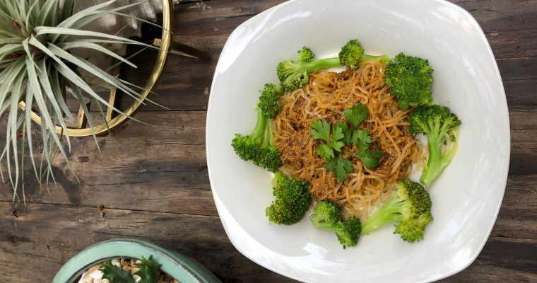 Easy Vegan Sun Dried Tomato Pesto with Kelp Noodles