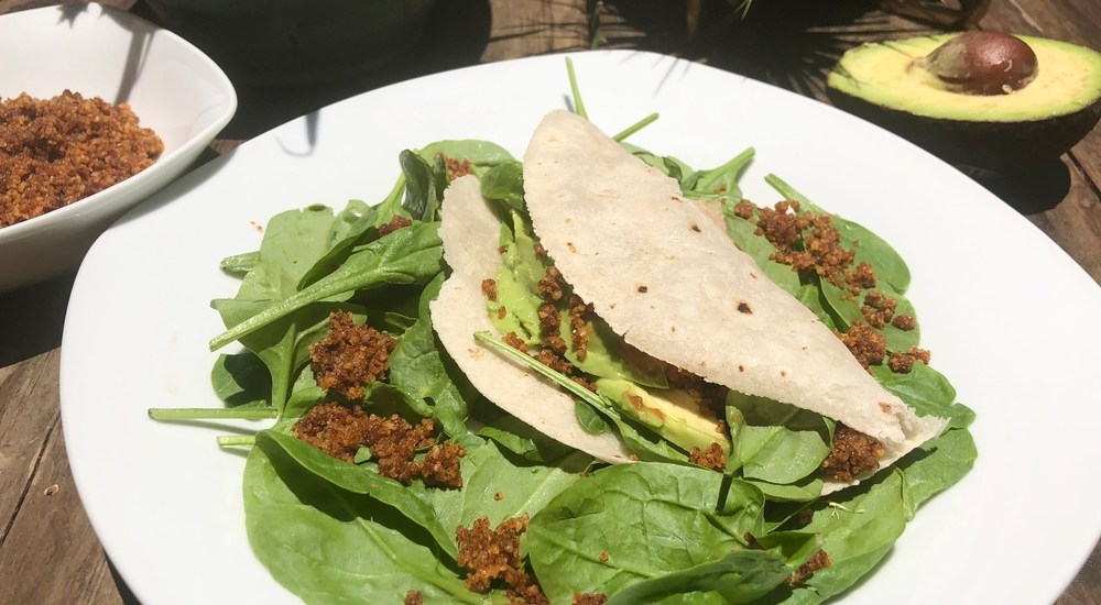 Vegan Smoky Walnut Taco Meat