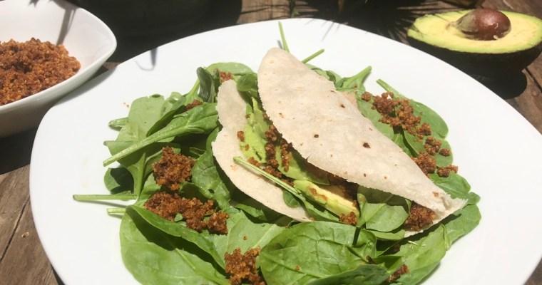 Vegan Smoky Walnut Taco Meat