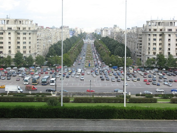 How Romania's Five Biggest Cities are Moving in the Green