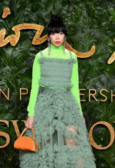 LONDON, ENGLAND - DECEMBER 10: Susanna Lau arrives at The Fashion Awards 2018 In Partnership With Swarovski at Royal Albert Hall on December 10, 2018 in London, England. (Photo by Jeff Spicer/BFC/Getty Images for BFC)