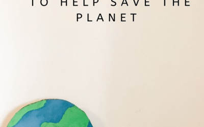9 Eco Friendly Things You Can do TODAY to Help Save Our Planet!