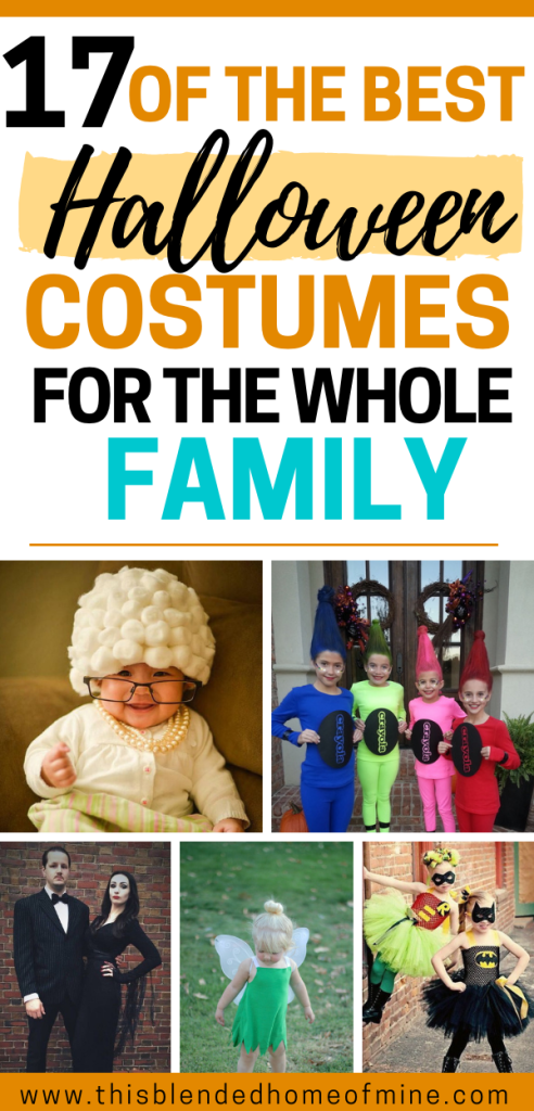17 of the Best Halloween Costumes for the Whole Family - This Blended Home of Mine