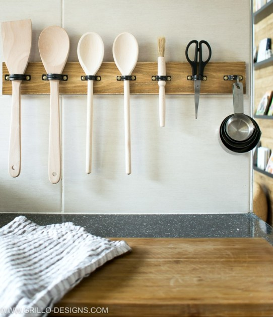 Organization Hacks - Organization ideas for the home, clutter, declutter - Utensils