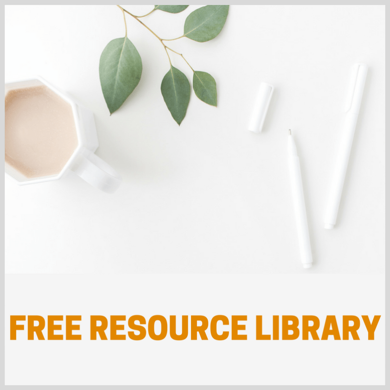 FREE RESOURCE LIBRARY- This Blended Home of Mine - www.thisblendedhomeofmine.com