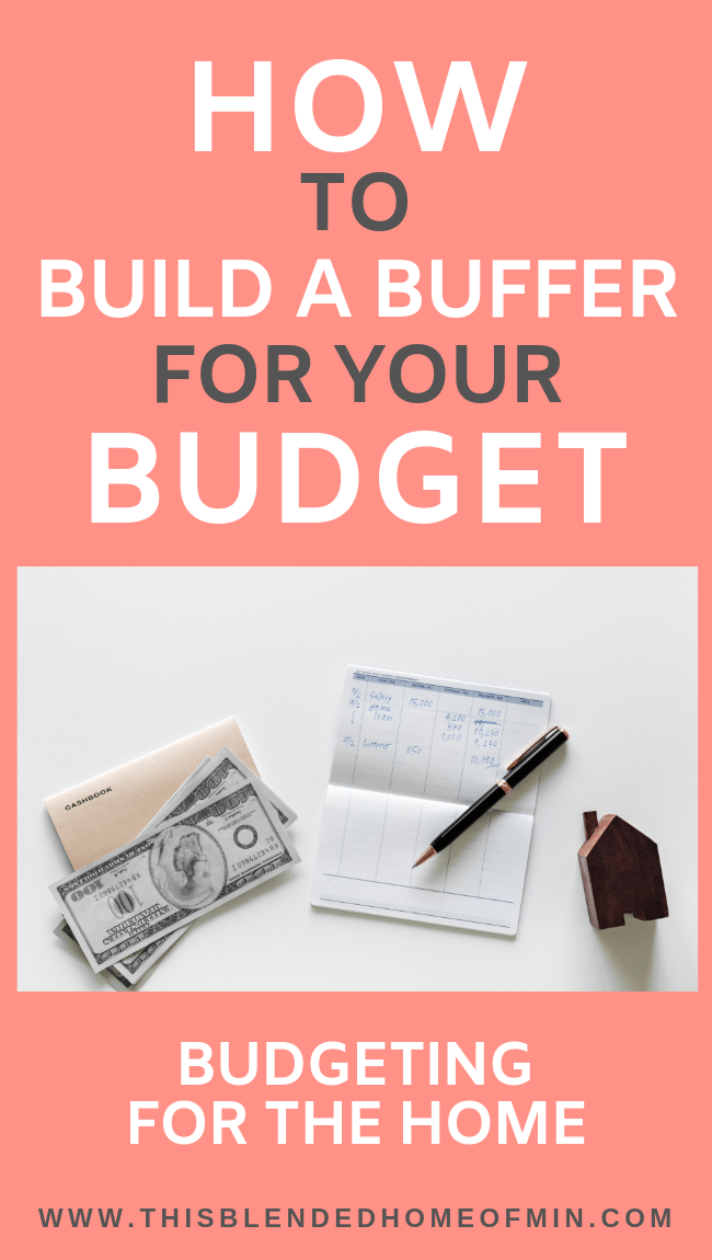 How to build a buffer for your budget - This Blended Home of Mine
