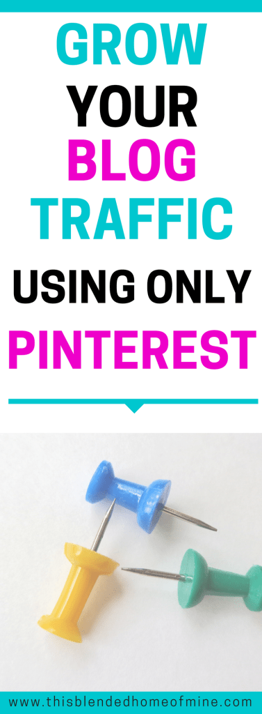How To Increase Your Pinterest Page Views in 5 Easy Steps - This Blended Home of Mine - How to blog, Pinterest Pageviews, Pinterest Traffic