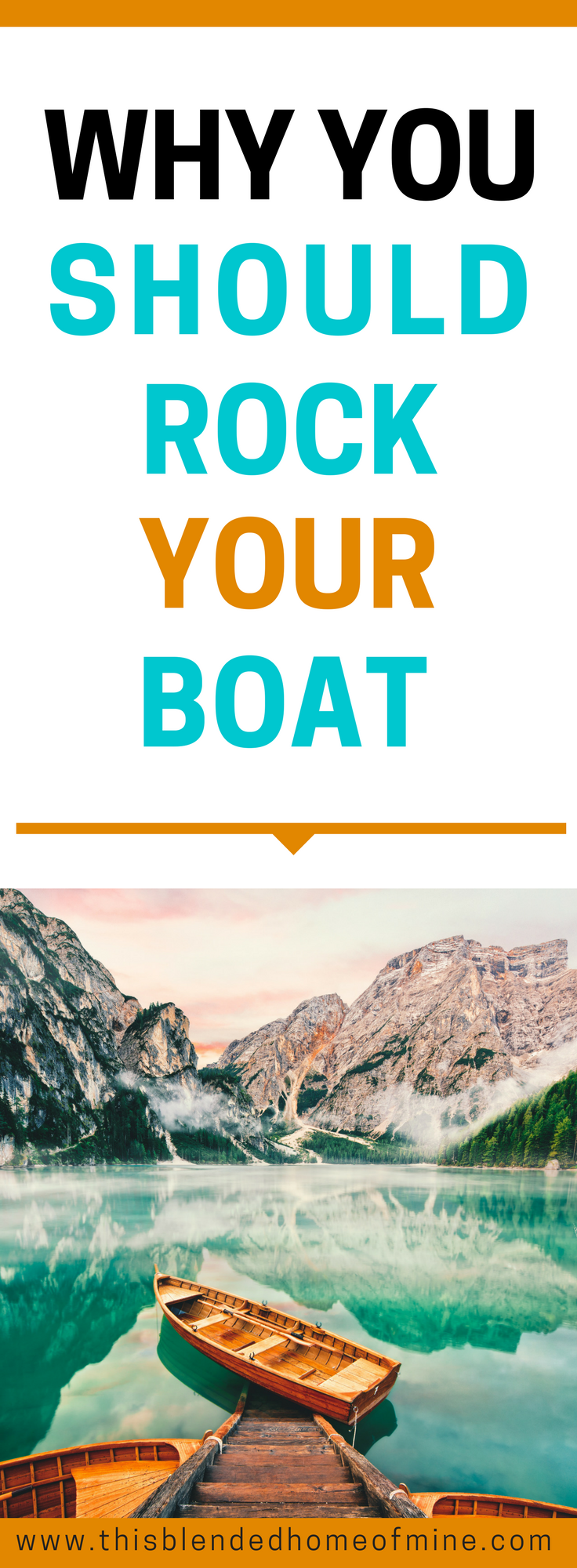 Why You Should Rock Your Boat - This Blended Home of Mine _ Gut feeling, Trust your gut, Intuition, Self Improvement, Personal Development